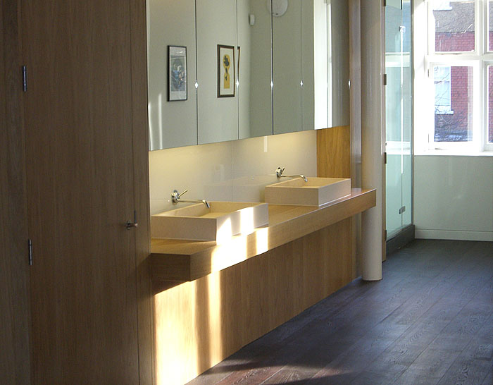 Bespoke bathroom unit