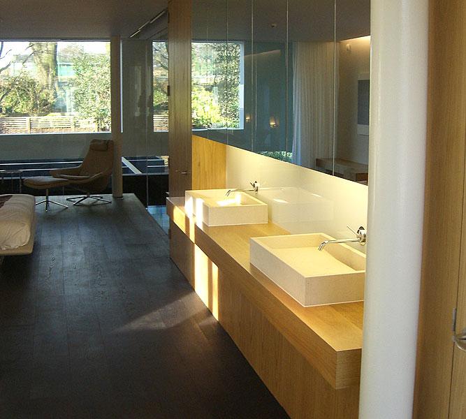 Handmade luxury family bathroom design