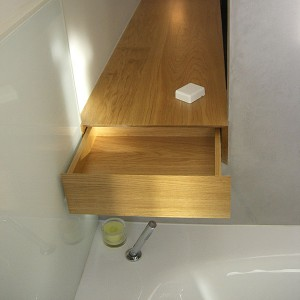 Handmade fitted bathroom design