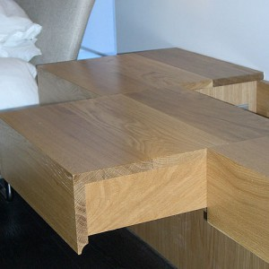 Handmade oak joinery