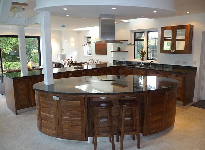 Architectural Bespoke Kitchen Solution