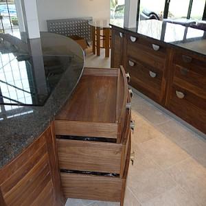 Handmade kitchen storage designer