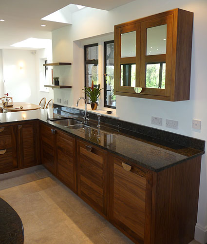 Handmade open planned kitchen design