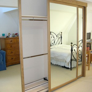 Handmade fitted wardrobe