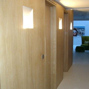 Oak panelling bespoke furniture