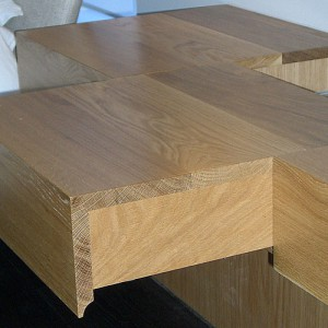 Handmade oak joinery