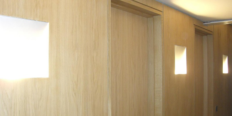 Handmade oak doors