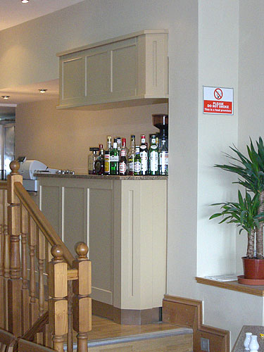 bespoke restaurant interior fit
