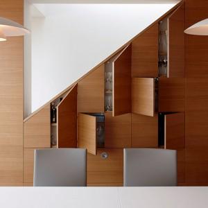 Built-in space saving furniture