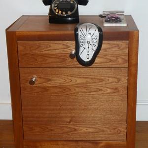 bespoke handmade wooden cabinet