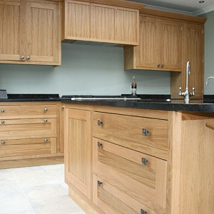 Custom designed kitchen Sussex