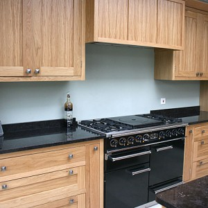 handcrafted kitchen with granite