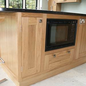 Bespoke Kitchen Island with built in oven