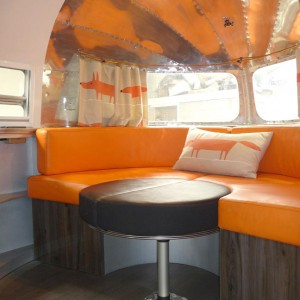 Vintage airstream clipper refurbishment sussex