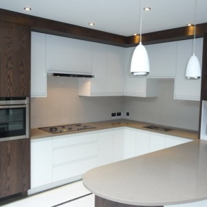 Bespoke contemporary kitchen design